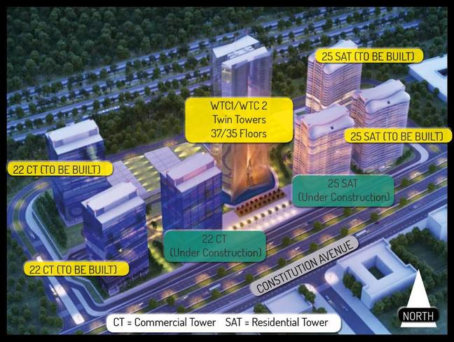 World Trade Center Abuja Layout