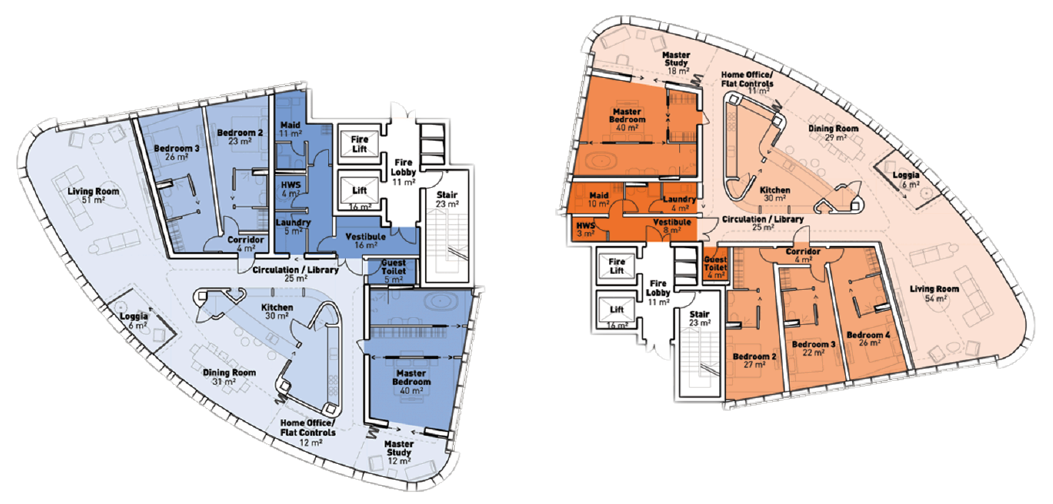 Ramzi Towers Floor Plan