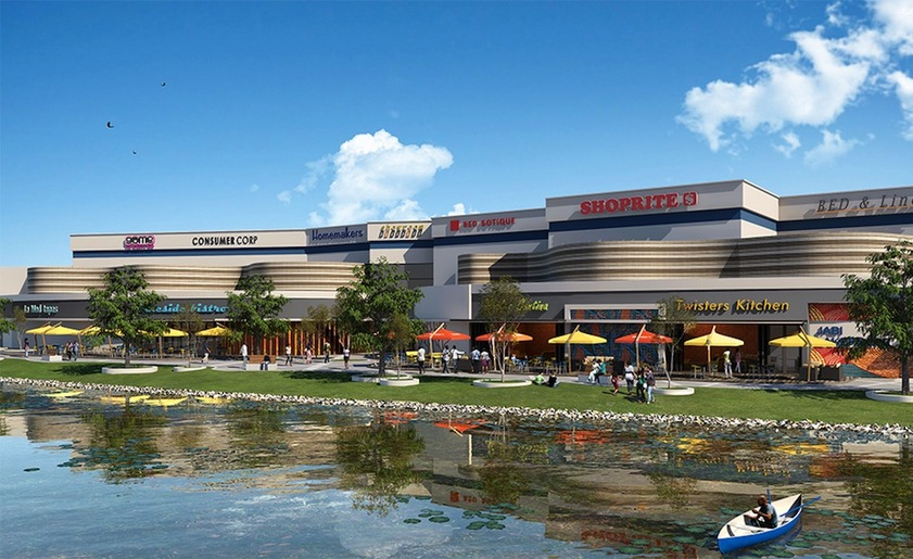 Jabi Lake Mall Rendering